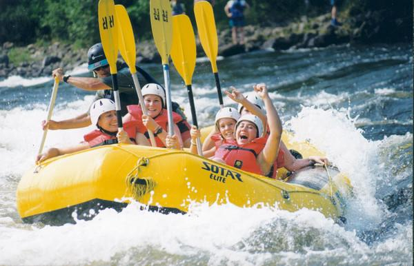 RiverRun Offers Free Day of Rafting for Military