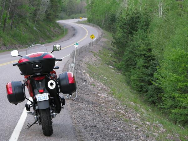 Adrian Blake's Bike in the Ottawa Valley