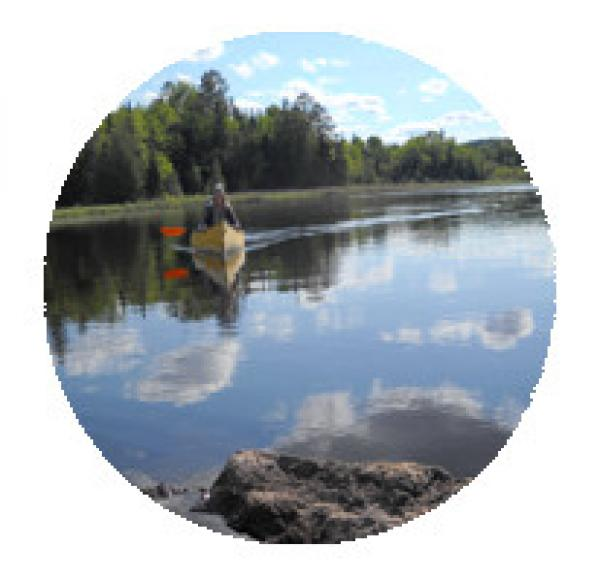 Flatwater Explore by Canoe Palmer Rapids to Aumonds Rapids