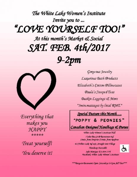 LOVE YOURSELF TOO! MARKET and SOCIAL