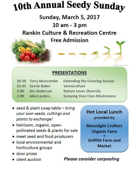 10th Annual Seedy Sunday