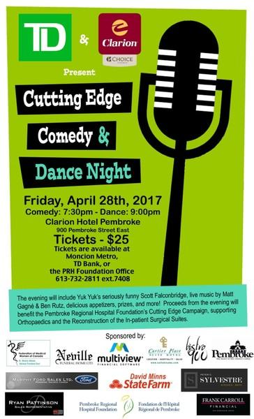 Cutting Edge Comedy and Dance Night