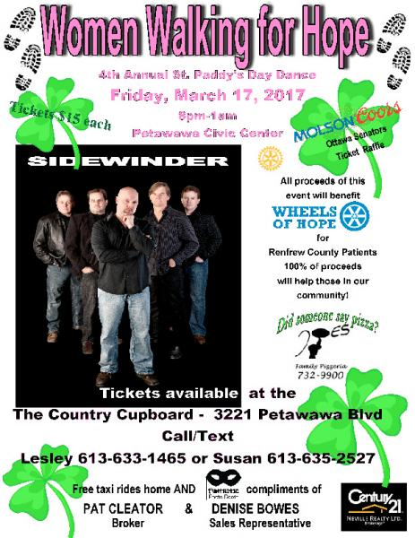 4TH ANNUAL ST PADDYS DAY DANCE