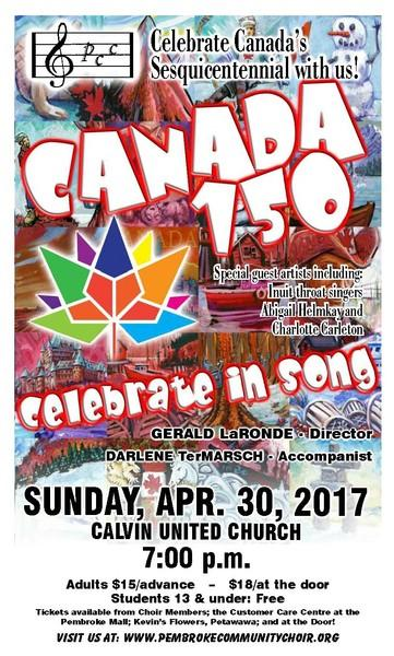 Canada 150: Celebrate in Song!