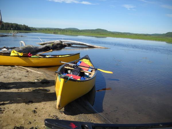 Flatwater Explore by Canoe with Madawaska River Rentals