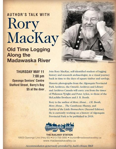 Author's Talk With Rory MacKay