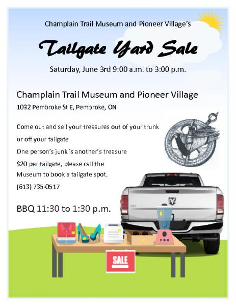 Tailgate Yard Sale at the Museum