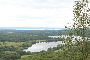 View toward Round Lake | Looking west.