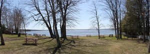Township Park | Good for viewing the northeast end of the lake.