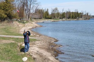 Biederman Park birding | Good for viewing the west side of the lake.