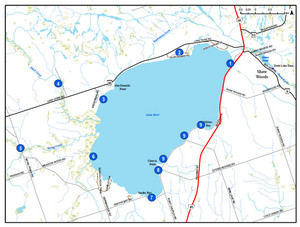 Lake Dore Tour | A quick look at birding locations.