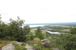 The view toward Golden Lake | Looking south.