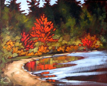 Fall Colours by Joyce Burkholder